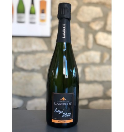 Cuvée Vintage 2008 du Champagne Lamblot